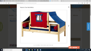 Amazing Children's Tent Bed