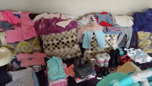 Lot of girls clothes 18-24months