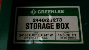 Greenlee tool chest