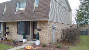 End unit 3 Bedroom Townhouse with fenced yard
