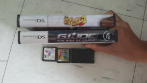 Different DS Games