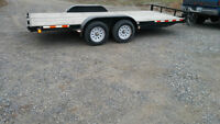 2008 Tandem Axel 16' Car Hauler Trailer with ramps