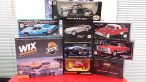 Diecast car collection WIX filters