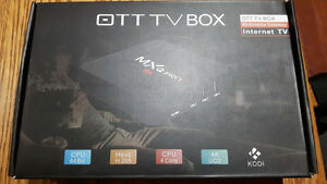 NEW Android TV Box Preloaded with Kodi Cambridge Kitchener Area image 1