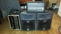 PA for sale sound very good Peavey Amp and speaker