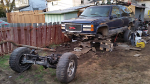 88 to 98 fullsize Chevy /gmc suspension lift
