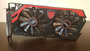 MSI AMD Radeon R9 290 4G Graphics card for sale asking $195