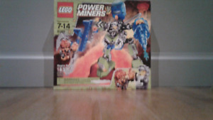 LEGO power miners magma mech #8189