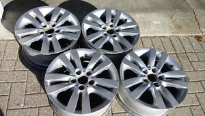 """BMW OEM genuine rims 17x8"""" for 3 series style 161 for E90+"""