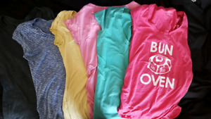 Maternity t-shirts and tanks -$20