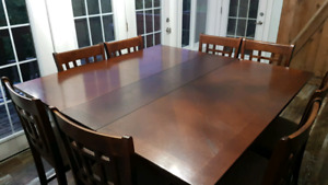 Brown high top dining table for sale!!