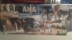 Urban Barn Wall Art - FOR SALE - Perfect Condition