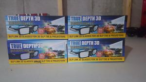 True Depth 3D Firestorm LT DLP Link 3D Glasses (TV / Projector)
