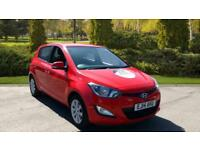 2014 Hyundai i20 1.2 Active 5dr Manual Petrol Hatchback