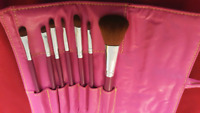 Makeup Brushes with case -10$