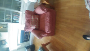 Two couches and matching chair for sale