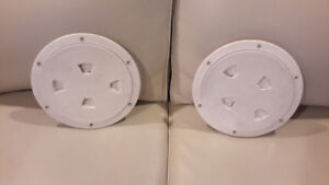Two 10 Inch Deck Plates In Excellent Condition