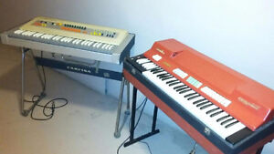 """""""Vintage Red Farfisa combo compact keyboard organ"""" West Island Greater Montréal image 9"""