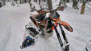 Radix snow bike kit