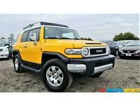 FRESH IMPORT LHD TOYOTA FJ CRUISER 4.0 V6 AUTOMATIC