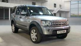2012 Land Rover Discovery 3.0 4 SDV6 COMMERCIAL 255 BHP SUV Diesel Automatic