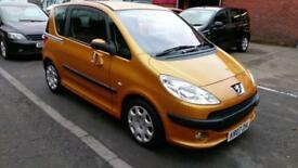 PEUGEOT 1007 1.4 LTD EDITION IN ORANGE SLIDING DOORS 72K LOTS OF HISTORY 2007