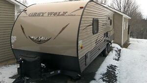 2016 25 foot Grey Wolf travel trailer by Forest River