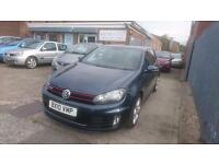 2010 / 10 Volkswagen Golf 2.0 TSI GTI 5 Door Full Leather+Full History