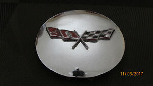 1977 Corvette Chromed Gas Lid with Emblem 379934 Used