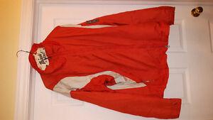 Columbia convert men's Xl jacket.orange