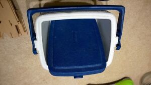 Hard sided cooler (holds six cans easy)