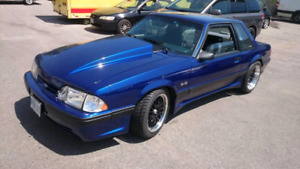 1989 Ford Mustang Blue