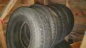 245/75R16 Winter tires studded $300