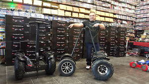 $20K Custom Segway! 120Km Range! TRADE for products worth $$