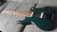 Lost or stolen: Distinctive custom forest green electric guitar