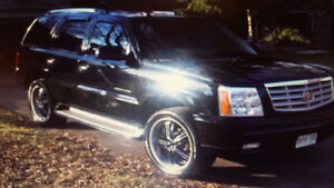 "305 40R 22"" Rims and tires off 2005 Escalade"