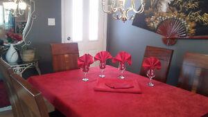 Nappes de Noël et serviettes de table