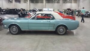 66 mustang..drive it anywhere..6  auto, lets deal..