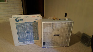 Fan and heater
