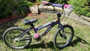 Vélo fille 20- pouces