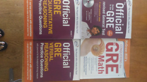 Official GRE Prep books.