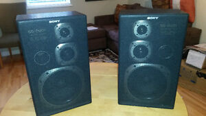 Pair of Sony SS-D201 speakers for sale