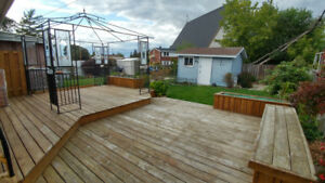 3 Bedroom with backyard and patio - Gloucester Avail. Now