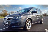 Vauxhall Zafira 1.8I 16V SRI Good / Bad Credit Car Finance (blue) 2011