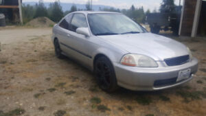 1997 Honda Civic Coupe (2 door) OBO or  trade awd or 4x4