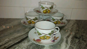 Evesham Vale Breakfast Cup and Saucer
