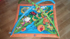 Tiny Love play mat with toys