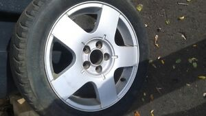 Snowtires   195/55/15 on vw rims  $300 for all 4