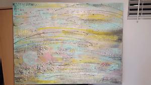 Toile abstraite 24x 36