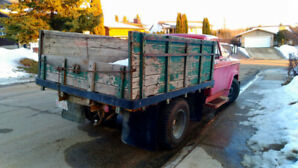 1964 Dodge D300 one ton with dumping box